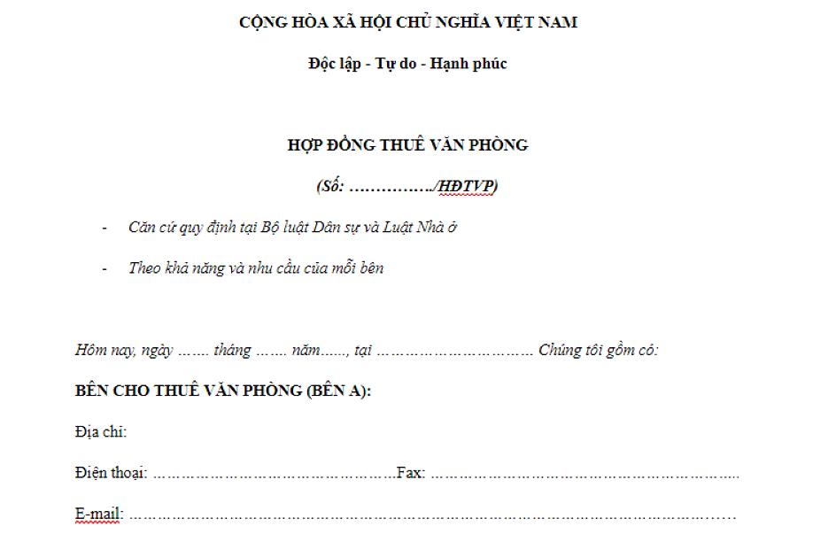 mau-hop-dong-cho-thue-van-phong-ao-moi-nhat-hien-nay-1